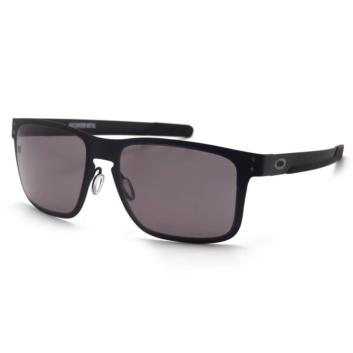 Óculos Oakley Holbrook Mettal Black  Lente Prizm Grey ref  OO4123-11 e788074792