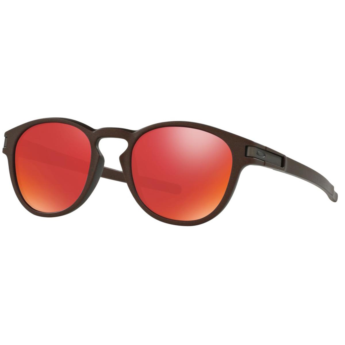 167970892b2e0 Óculos Oakley Latch Metal Corten Lente Torch Iridium ref OO9265-11