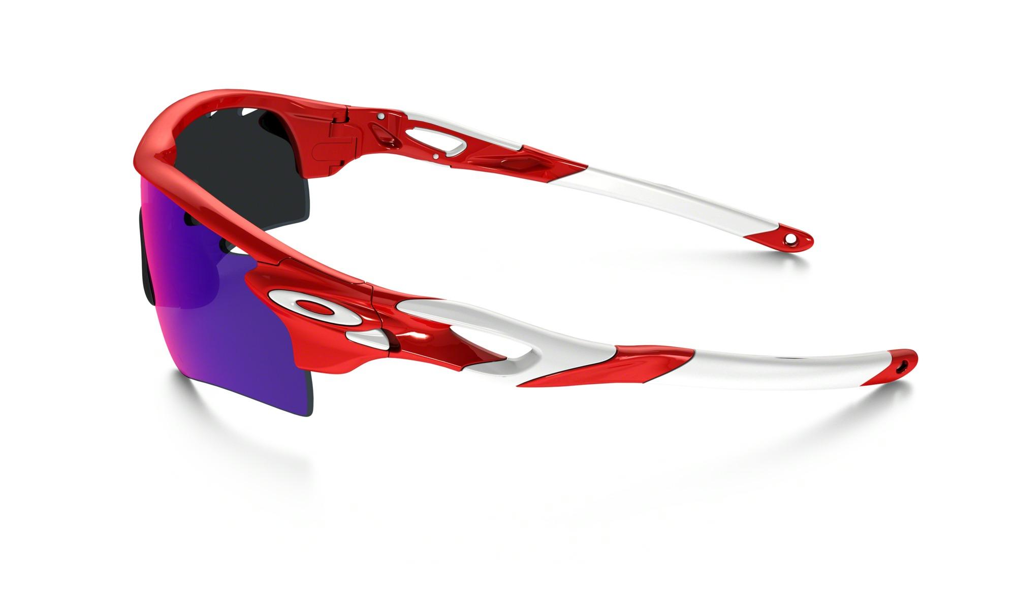 Óculos Oakley RadarLock Path Infrared Red Iridium e Clear VR28 ... 68a57bc85f
