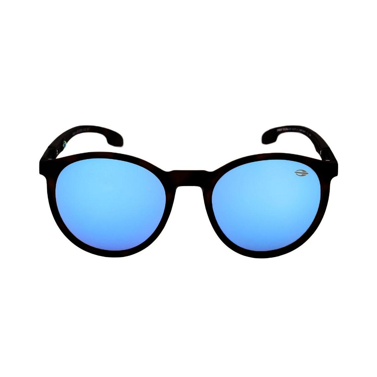 ccfb3af089114 óculos De Sol Mormaii Monterey Preto Fosco Com Azul   CINEMAS 93