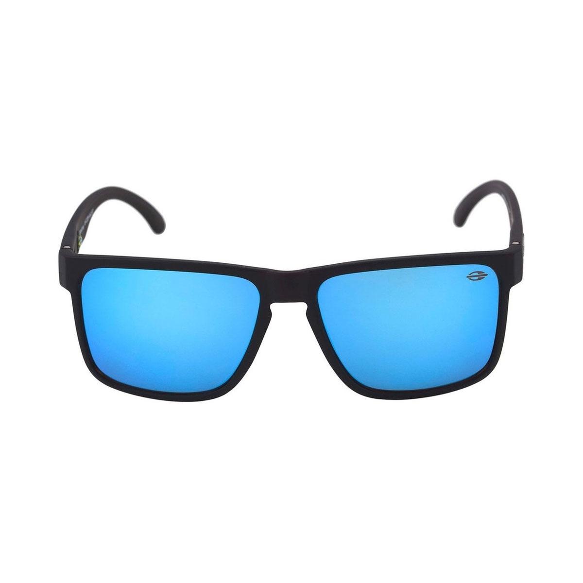 cab0658f2a9f9 Óculos Mormaii Monterey Preto Fosco  Azul Revolution ref M0029A1497