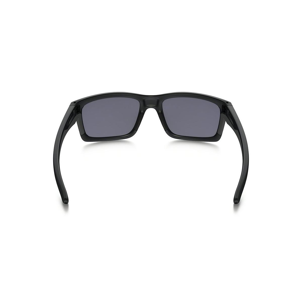 16e81f5afe3f5 Óculos Oakley Mainlink Matte Black  Lente Grey ref OO9264-01