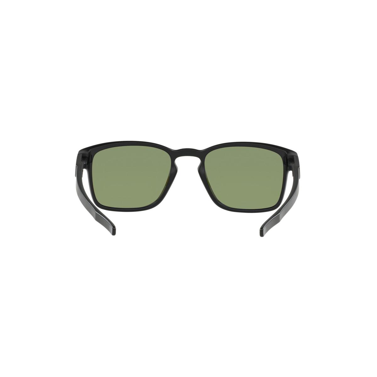 Óculos Oakley Latch Square Matte Black  Lente Violet Iridium Polarizado ref  OO9353-04 8169cf6dd5