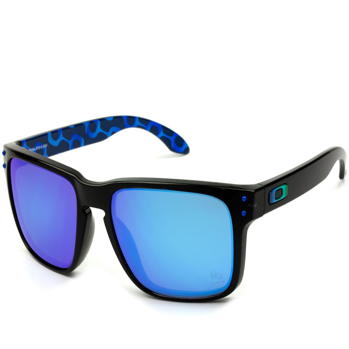d5ae65bfc Oakley Holbrook Lente Ruby Iridium Gafas de Sol OAKLEY OO9102 HOLBROOK  oiOferta :: Óculos Oakley Holbrook com Armação Preta Fosca ...