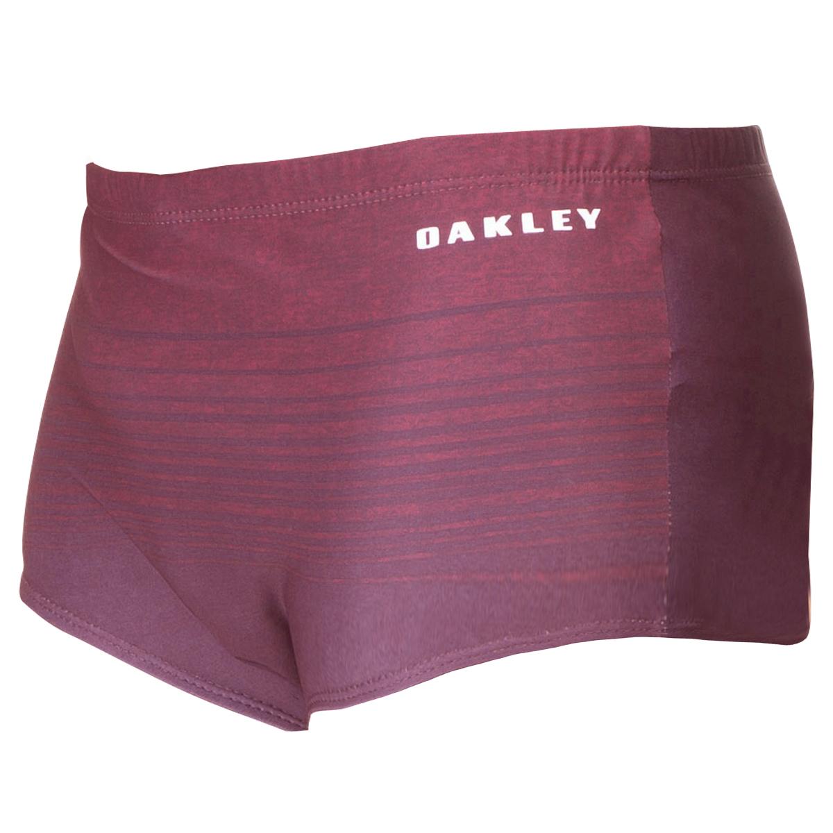 Sunga Oakley Striped Swim Vinho ref  482539BR-80U 5ed1f83df8
