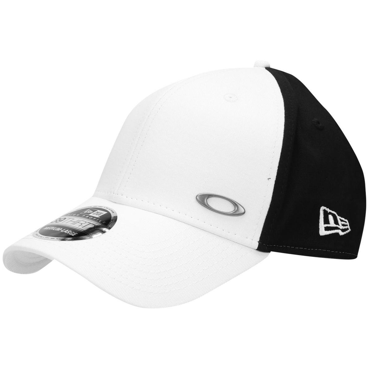868d85599bb00 Boné Oakley Tinfoil Branco Com Preto PROMOÇAO passe o mouse para ver em zoom