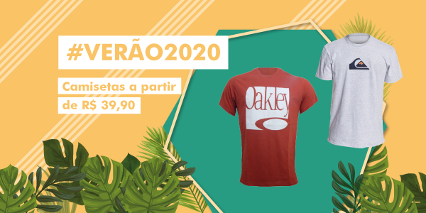 VERAO 2020 CAMISETAS